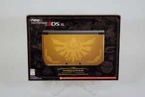 NEW! Nintendo Gold Hyrule Edition New Nintendo 3DS XL LIMITED