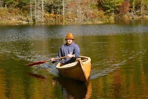Canot d'écorce 15' modèle algonquin traditionnel Saguenay Saguenay-Lac-Saint-Jean image 5