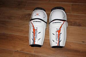 Jambières hockey Itech 8,5 pouces (22 cm)