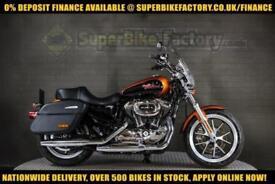2014 64 HARLEY-DAVIDSON SPORTSTER XL1200 SUPERLOW 1200CC 0% DEPOSIT FINANCE AVAI