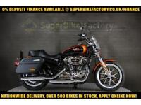 2014 64 HARLEY-DAVIDSON SPORTSTER XL1200 SUPERLOW 1200CC 0% DEPOSIT FINANCE AVAI