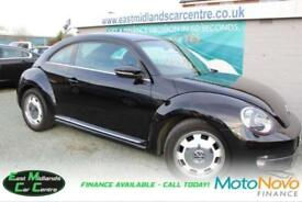 2014 14 VOLKSWAGEN BEETLE 1.6 DESIGN TDI BLUEMOTION TECHNOLOGY 3D 104 BHP DIESEL