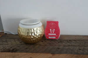 Scentsy Warmer with Verry Merry Cranberry Bar