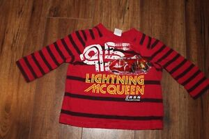 18 Month Cars long sleeve shirt