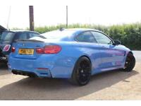 2016 16 BMW M4 3.0 M4 COMPETITION PACKAGE 2D AUTO 444 BHP