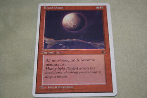 mtg magic the gathering card Blood Moon Kitchener / Waterloo Kitchener Area image 1