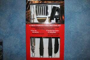 New Price New Brinkmann 4 Piece BBQ set