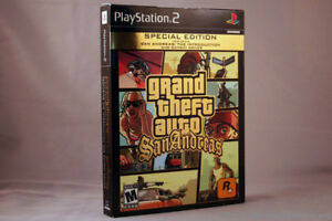 Grand Theft Auto: San Andreas PS 2 -- Special Edition