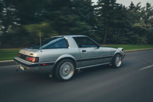 1984 Mazda RX7 gsl. SOLD. 1986 Rx7 GXL shell still up for sale