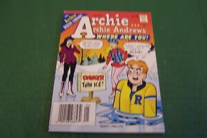 ARCHIE ANDREWS WHERE ARE YOU DIGEST MAGAZINE  YEAR 1996 NO 105