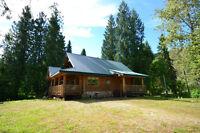 Custom Log Cottage