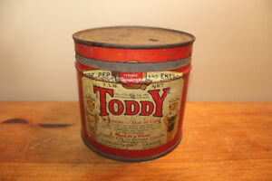 Old Toddy Drink Tin