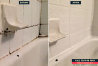 Bathroom Tile Regrouting and Recaulking Services