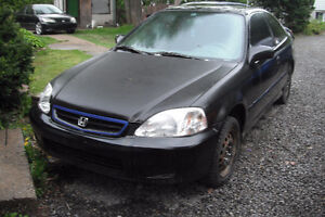2000*Civic *SHELL;*BODY COMPLET;*POUR PROJET=500.00$$$