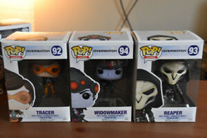 Funko PoP! & Rock Candy - Overwatch/Warcraft/Suicide Squad