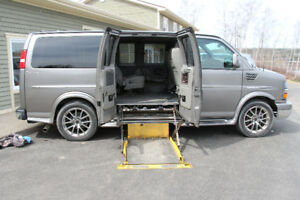 13' Express - Accessible Van - over $110,000 brand new!