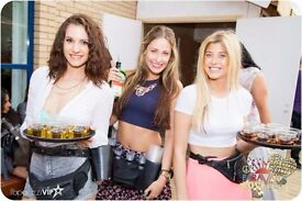 SHOT GIRLS WANTED for busy shifts in READING