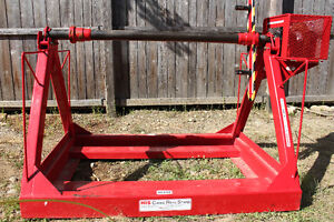 Cable Reel Stand With Brake