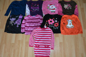 Lot of Girls 3T Long Sleeves Shirts