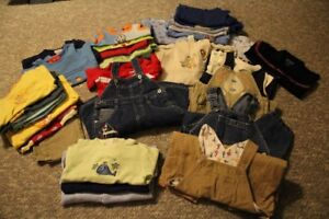 Large lot of 6-9 month and 6-12 month infant clothes for sale