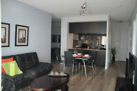 1000 Sq Ft 2+1B 2W condo By Lake 8 km to Downtown Oct 15