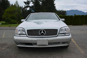 1999 Mercedes-Benz CL500  (s500 Coupe collector plated)