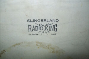 1940s SLINGERLAND RADIO KING 26 inch BASS DRUM Windsor Region Ontario image 4