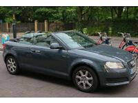 HPI CLEAR LOW MILEAGE - AUDI A3 - Convertible - £9,000 - GREY - Full Service bmw Mercedes vw