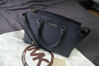 Michael Kors Large Selma Satchel handbag in Saffiano Leather