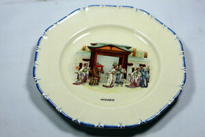 Antique Coronetware Parrot & Company plates Mikado & Gondoliers Kingston Kingston Area image 1