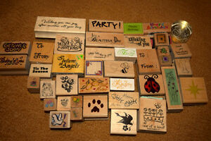 HUGE CRAFTING STAMP COLLECTION