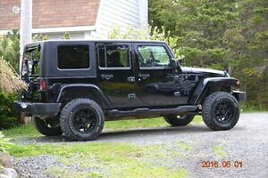 2007 Jeep Wrangler UNLIMITED SAHARA 4x4