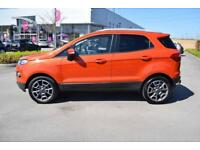 2016 FORD ECOSPORT Ford Ecosport 1.5 TDCi [95] Titanium 5dr 2WD [17in Alloys]