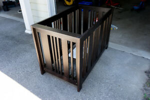 AP Industries Solid Wood Crib & Queen Bed Conversion Kit
