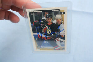 Signed ottawa hockey cards $5 each your choice