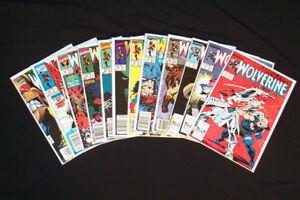 1988 Marvel Wolverine #2,3,6,16,19,20 +More Comic Lot 12pcs