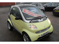 Smart Smart 0.7 Fortwo Pulse Semi Auto, ONLY £30 PER YEAR ROAD TAX,