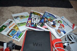 Nintendo wii plus 5 games