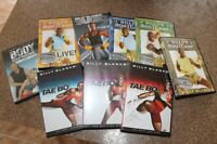 Set of 9 workout DVD's- 8 Tae Bo & 1 Body Express $20 for all