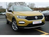 2018 Volkswagen T-Roc 1.5 TSI EVO Design (s/s) 5dr Other Petrol Manual
