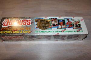 1991 Donruss Baseball Factory Sealed Set