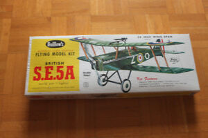 Avion Balsa kit RC elast. 60-70 Guillow's vintage retro Antique