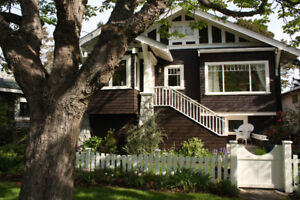 Oak Bay Character Home, furnished rental, or purchase