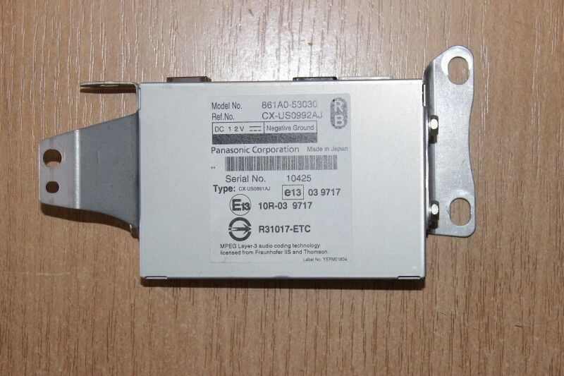2009 LEXUS IS ISC IS250C / USB MULTIMEDIA INTERFACE 861A0-53030