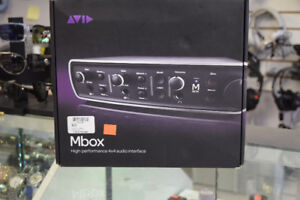 Avid Mbox High Proformance 4X4 audio interface