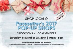 Pacesetter Homes Free Popup Vendors Event - support our vendors