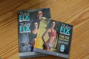21 Day Fix Extreme DVDs and Eating Plan Book - New in Packaging