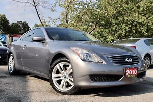 2010 Infiniti G3X Coupe - Accident Free - Navigation - Certified
