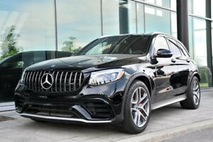 2019 Mercedes Benz GLC63 AMG S 4MATIC + SUV