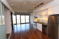 Beautiful River City Loft - One Bedroom + Den - For Lease $1900